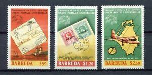 27553) BARBUDA 1974 MNH** Nuovi** UPU 3v