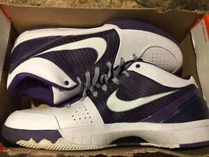 New Nike zoom kobe 4 IV Zoom TB Varsity Purple White 381947 118 Sz 18