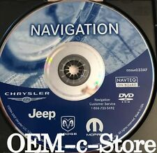 2004 2005 2006 Jeep Liberty & Grand Cherokee SRT8 Overland Navigation DVD Map AF