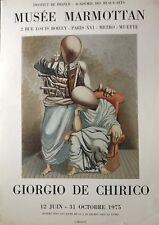 GIORGIO DE CHÉRICO MUSÉE MARMOTAN 1975