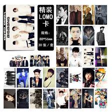 30pcs set Kpop BIGBANG Collective Personal PhotoCard Poster  Lomo Card