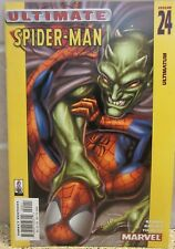 Ultimate Spider-Man #24 2002 Green Goblin / Spider-man Cover ( Free Ship )