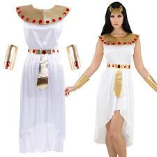 Deluxe Damen Cleopatra Kleopatra Ägypterin Kostüm Set Verkleidung Kleid