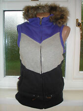 April Evil Hooded Gilet/Body Warmer