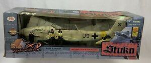 Ultimate Soldier X-D 21st Century Toys 1:18 scale WWII Luftwaffe Stuka Bomber