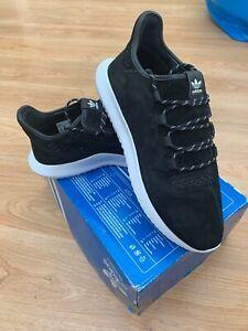 BNIB Adidas Originals Tubular Shadow Trainers Core Black White UK 12.5 US 13 48
