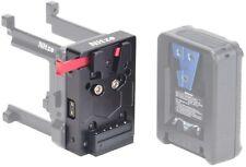 Nitze V Mount Battery Plate Adapter w D-Tap 14.8V Socket fr Z Cam E2-M4 S6/F8/F6