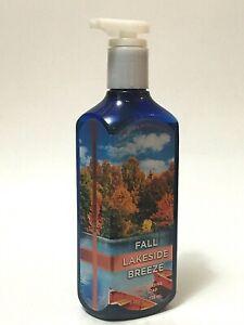 1 BATH & BODY WORKS FALL LAKESIDE BREEZE DEEP CLEANSING HAND SOAP 8 FL OZ NEW
