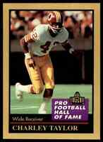 1991 Hall of Fame GOLD #135 Charley Taylor HOF RARE Washington Redskins / ASU