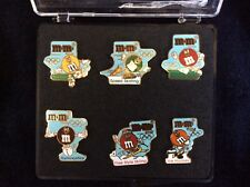M&M Character Lapel/Hat Pins - Olympic Sports Commemorative