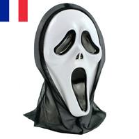 Masque de Fantôme Adulte Ghost Scream Halloween Déguisement