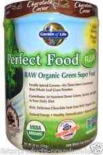NEW GARDEN OF LIFE PERFECT FOOD RAW ORGANIC GREEN SUPER FORMULA CARE CHOCOLATE