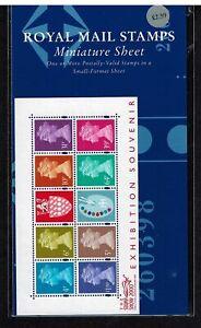 GB Stamp Show 2000 Matthews Palette mini sheet Format Pack VGC miniature sheet