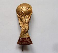 DISTINTIVO ESPANA MUNDIAL 1982 CALCIO SPAGNA CAMPIONI DEL MONDO FOOTBALL CUP