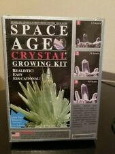 Space Age Crystal Growing Kit Emerald Cluster Realistic Easy Educational