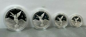 2018 PROOF LIBERTAD ~ MEXICO ~ 1/2 1/4 1/10 1/20 OZ Proof Silver Coin in Capsule