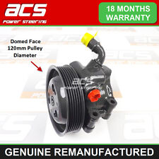 FORD FIESTA 1.6 16v 2000>2002 POWER STEERING PUMP (120mm Pulley) - RECONDITIONED