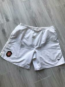 MANCHESTER UNITED HOME FOOTBALL SHORTS 2006/2007 SOCCER MENS L NIKE