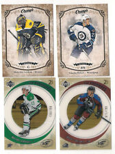 15/16 UD CHAMPS BRUINS MALCOLM SUBBAN GOLD PARALLEL RC #256