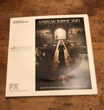 American Horror Story: Asylum: Complete Miniseries: Consideration FYC DVDs VIDEO