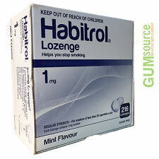 Habitrol Nicotine Lozenge 1mg Mint  1 box 216 lozenges