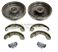 VAUXHALL CORSA C 00-06 REAR DRUMS SHOES WHEEL BEARINGS CYLINDERS NO ABS ONLY
