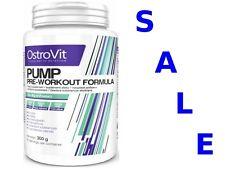 OstroVit Pump 300g Powerful Pre-Workout Beta-Alanine Taurine AAKG NO Booster