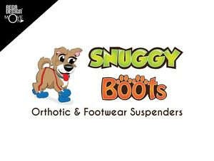 Canine Footwear Suspenders will keep your dog's booties on & protect their paws