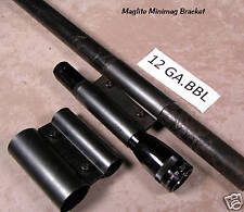 Maglite Minimag Bracket 12 Gauge Shotgun Barrel