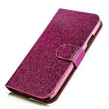 Glitzer Book Style Handy Tasche Samsung I9300 I9305 Galaxy S3 SIII Pink FlipCase