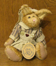 "Boyds Plush #9150-09 EMILY BABBIT, 8"" Spring 1998 NEW from Retail Store NURSE"