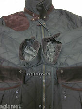 Last1 $525 NWT POLO RALPH LAUREN quilted  barn JACKET Coat  suede patch 3LT 3XLT