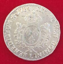 Monnaie France Argent Ecu Louis XVI 1784 L Bayonne