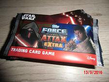 StarWars Force Attax Extra Neu 4x Booster