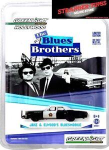 "Greenlight #44710-C 1:64 Blues Brothers (1980) – 1974 Dodge Monaco ""Bluesmobile"