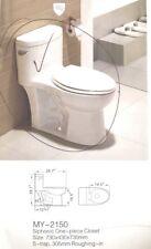 brand new one piece toilet white ceramic