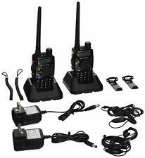 BaoFeng UV-5RA Two-Way Radio, Dual band UHF/VHF Ham -520MHz Transceiver - 2 Pack