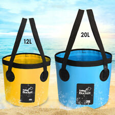 Waterproof Bags Folding Fishing Bucket Portable Buckets Water Container Storage