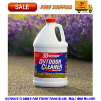 Outdoor Cleaner For Stains From Algae, Mold and Mildew 1 Gallon Concentrate