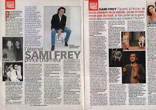 Coupure de presse Clipping 1998 Sami Frey  (2 pages)
