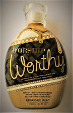 2017 Designer Skin Worship Worthy Bronzer Indoor Tanning Bed Lotion