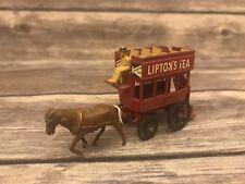 Vintage Matchbox Lesney No. 12 Lipton's Tea 1 Horse and Passenger Coach