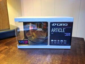 NEW! Giro Article Snow Goggle Black Frame/Vivid Copper Lens with Bonus Lens