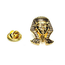 Detailed Pharoah King Tut Mask Lapel Pin Badge Gifts For Him