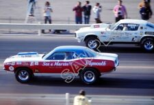 Sox and Martin Prostock Cuda Grumpy's Toy Drag Racing 13x19 Poster Photo 161