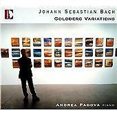 J.S. Bach: Goldberg Variations Bwv98, Andrea Padova CD   8011570370013   New