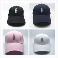 NEW LINCOLN  Logo Baseball Cap Logo Embroiderey Adjustable Hat Multiple Color