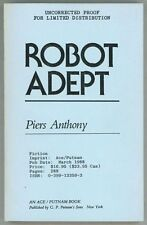 Robot Adept by Piers Anthony  (Advance Copy/Proof)