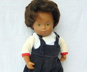 "Vintage Sasha Sexed Baby Girl Doll 12"" Playsuit & Shoes Brown Hair #505 1972"