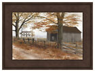 """Framed Art Print - Old Country Road By Billy Jacobs 17.5"""" H x 23.5"""" W Fall Farm"""